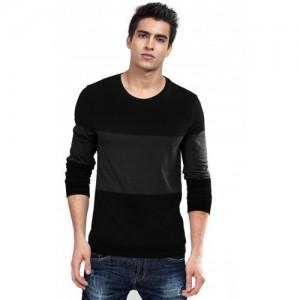 Sarfira Solid Men Scoop Neck Multicolor T-Shirt