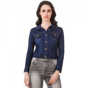 7d7f7e46f85 Buy Natty India Full Sleeve Solid Women s Jacket online