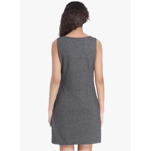 Vero Moda Women A-line Grey, Grey Dress