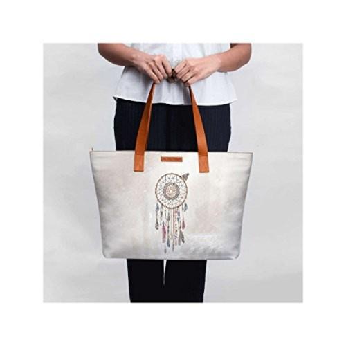 6529e201d22 Buy DailyObjects Lakota Dream Catcher Fatty Tote Bag online ...
