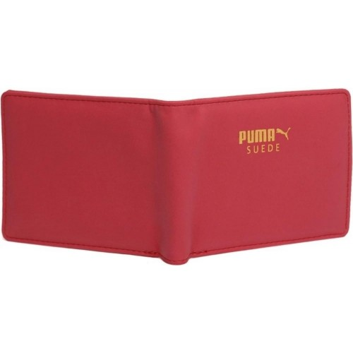 Buy Puma Red Suede Leather Wallet