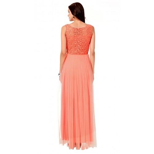 Eavan Orange Nylon Dress by Eavan