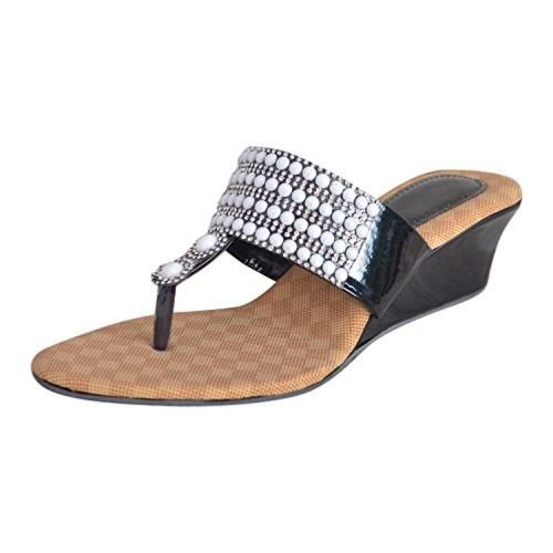 4b4e46a00e25 Buy Alphastar Women s Velvet Fashion Heel Sandals - SA-14 online ...