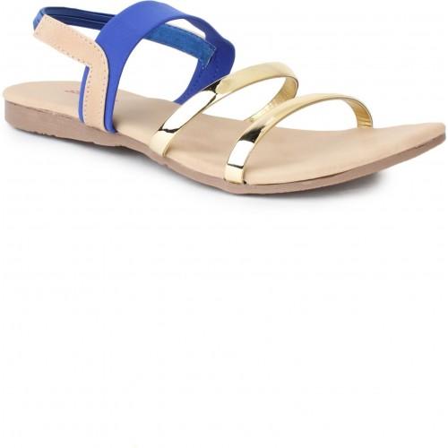 Star Style Women Blue Flats