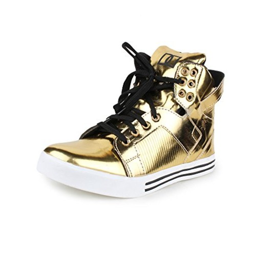 33a7e341d01 Buy Appe Men's Gold Synthetic casual shoes:APPE-0020GOLD-6 online ...