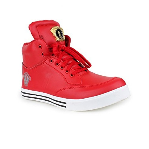 e0f2e98b004e7 Buy Appe Men s Red Synthetic casual shoes APPE-0018RED-6 ...