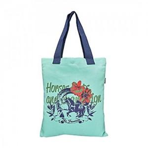 YOLO Mint Printed Tote Bag