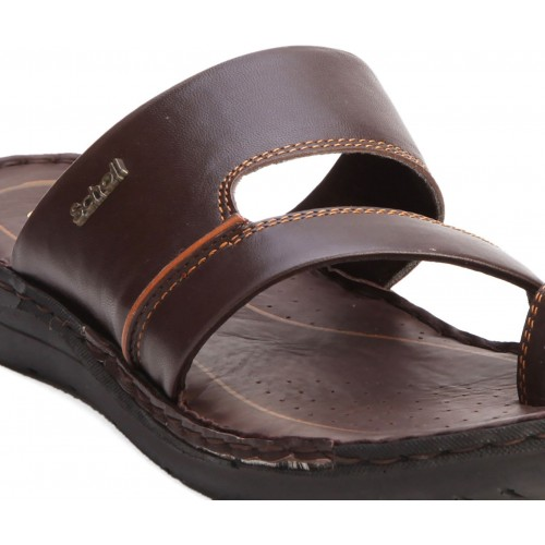 ec5515675 Buy Scholl Men Brown Sports Sandals online