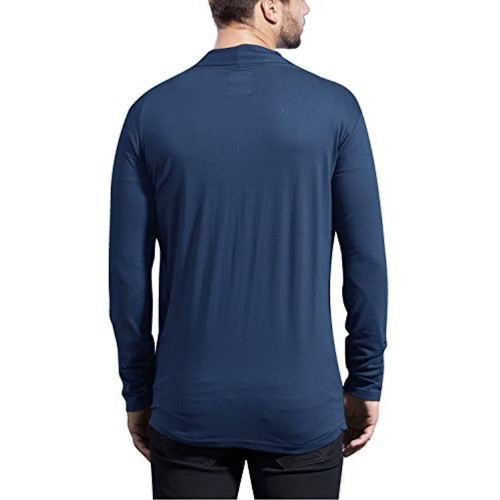 Maniac Navy Blue Fullsleeve Cotton Shrug