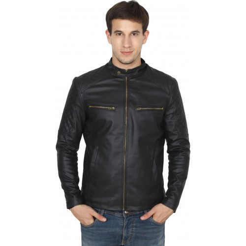 Fashion Mantra Black Full Sleeve Solid Jacket