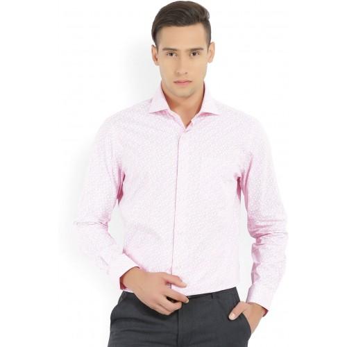 Buy Arrow Men's Floral Print Formal Pink Shirt online   Looksgud.in