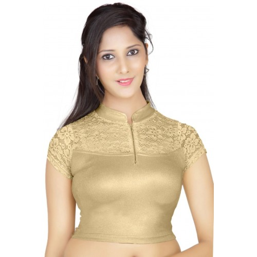 84face19a6d4b Buy Lyneth Fashion Neck Women s Stitched Blouse online