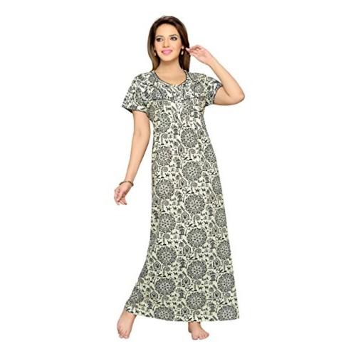 c9d94913a Buy SOULEMO WOMENS NIGHTY 100% PURE COTTON NIGHTY. 527 online ...