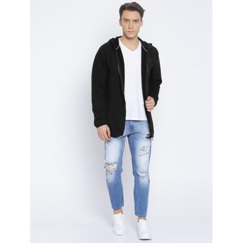 a0abd7d81fa0 Buy Puma Men Black Solid Record Fleece FZ Hooded Sweatshirt online ...