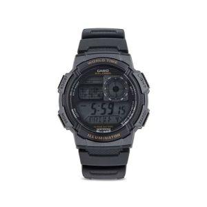Casio D080 Black Resin Youth Series Digital Dial Watch