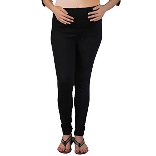 MomToBe Black Lycra Maternity Leggings