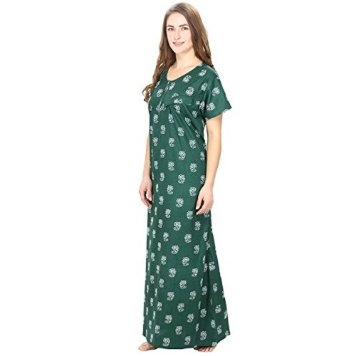 Secret Wish Women's cotton Maternity Nighty