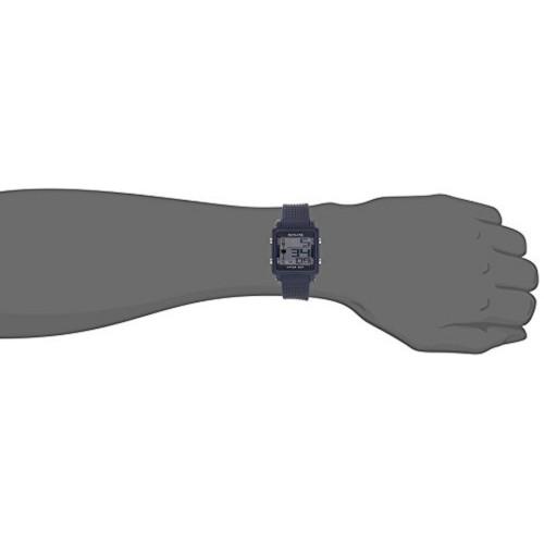 Sonata Grey Square Silicone Digital Watch