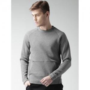 Nike Grey Melange AS NSW TCH FLC CRW Sweatshirt