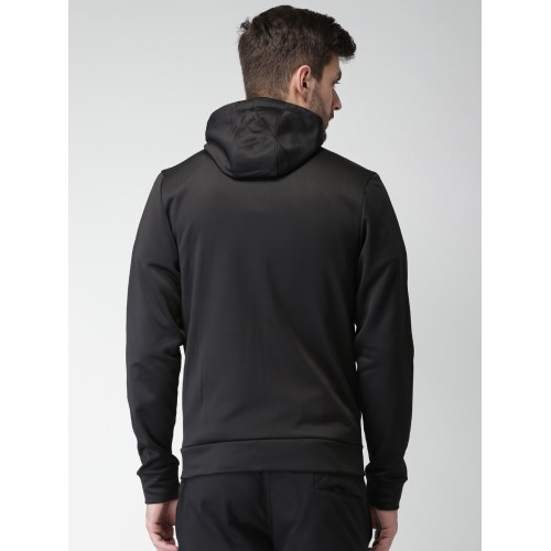 d523a82ac973 Buy Nike Jordan Men Black Solid Hooded 23 ALPHA THERMA FZ Sweatshirt ...