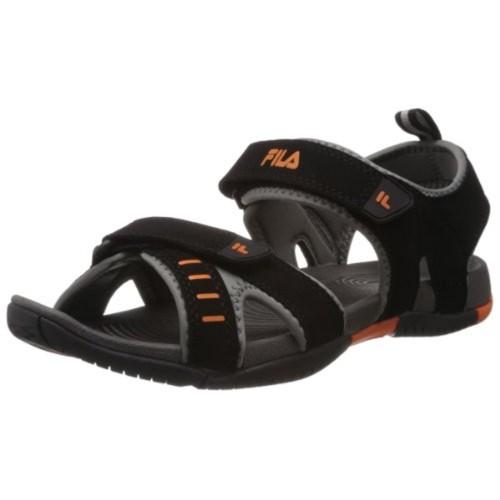 Fila Men Avior Black Sandals \u0026 Floaters