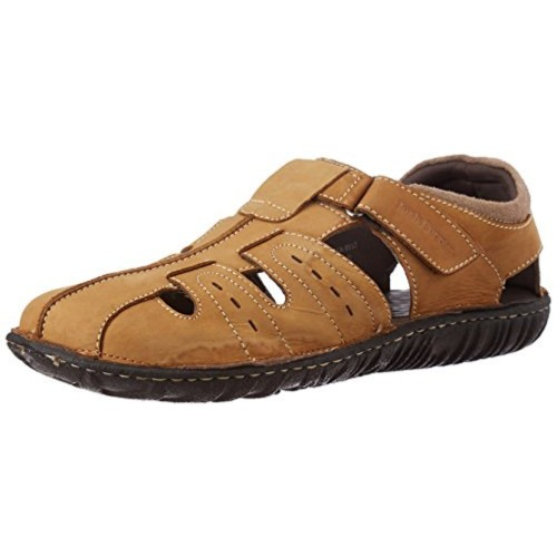 3c28679f658 Buy Hush Puppies Men s Leather Athletic   Outdoor Sandals online ...