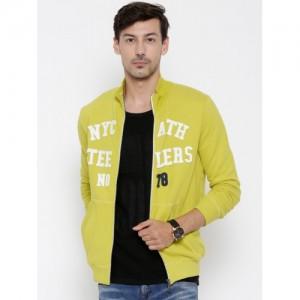 United Colors of Benetton Lime Green Sweatshirt