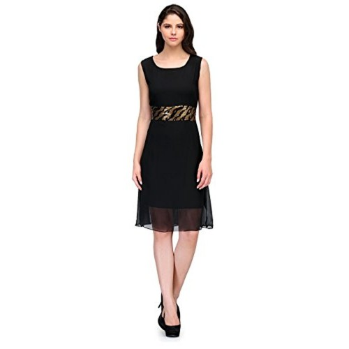 Buy Cenizas Black Party Dress Elegant Style Sleeveless Party Evening