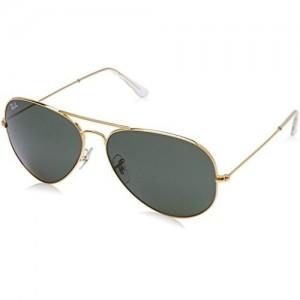 Rayban Aviator unisex Sunglasses (RB3026 62 millimeters Grey)