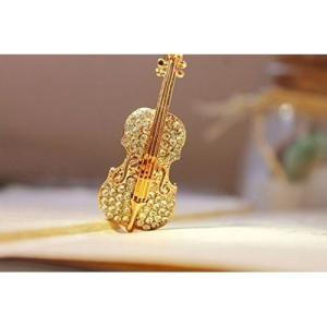 YouBella Gracias Collection Musical Guitar Brooch