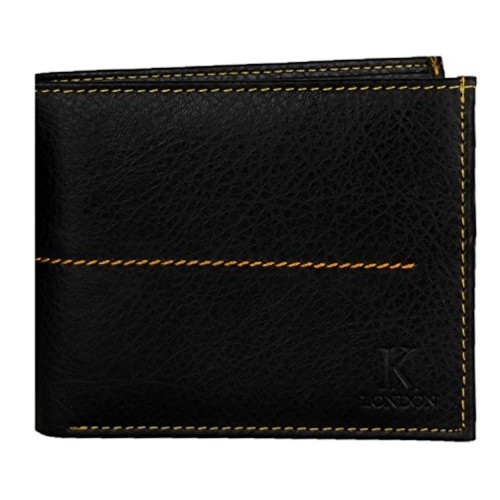 K London Black Mens Wallet