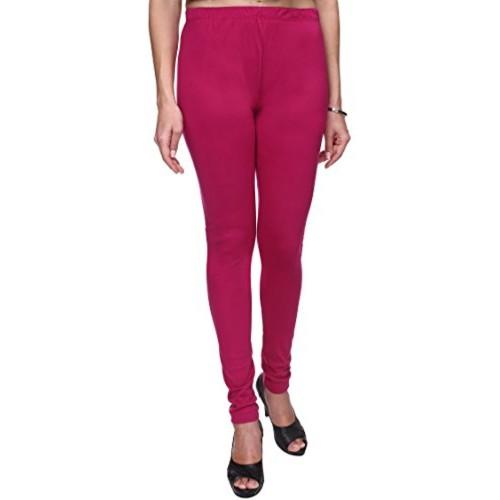 24ceaba17801e5 Trasa Leggings for Womens and Girls Cotton Lycra Multicolour Churidar  Leggings - Sizes :- M ...