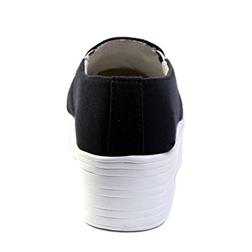 Red Rose Women's Black Stylish Shoes