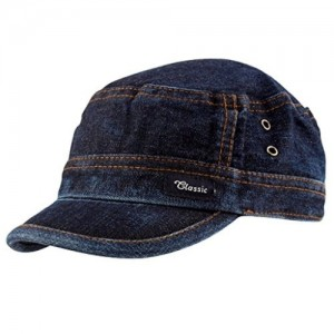 Malvina Unisex Denim Cap - MAL-DENIM-CAP_Blue