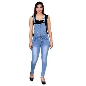 7543713e191 Modern Look Women Slim Fit Casual Dangri 28 30 32 34 36 38