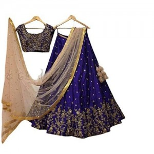Surat4fashion Women's Silk Lehenga Choli