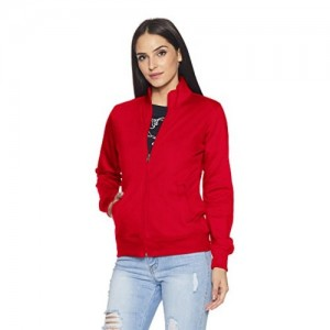 Qube By Fort Collins Women's Cotton Sweatshirt