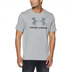 Under Armour Charged Cotton Sportstyle Logo Men's Round Neck Cotton T-Shirt