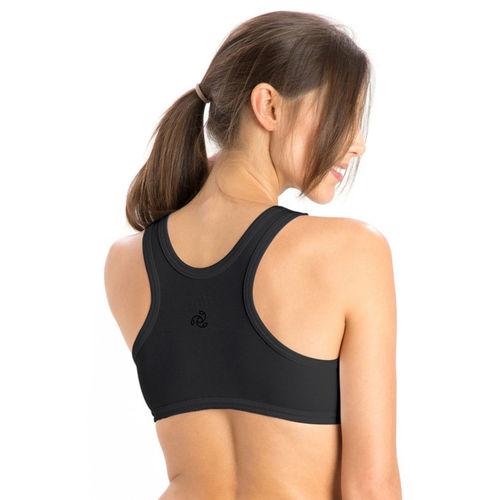 Jockey Women's Sports Non Padded Bra(Black)