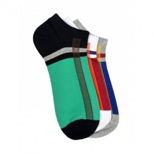 MARC Unisex Pack of 3 Ankle-Length Socks