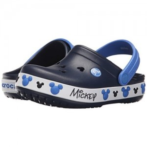 crocs Boy's Crocband Mickey Iv Clogs