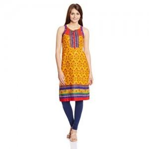Rangriti Women's Straight Fit Kurta