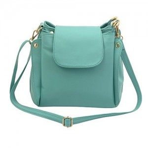 Woman s Stylish And Fashion Handbag And Purse (Green)