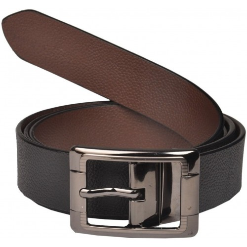 Saugat Traders Men Formal, Casual, Party, Evening Black, Brown Genuine Leather Reversible Belt