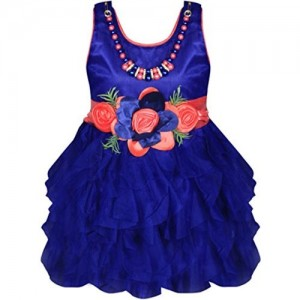 Mpc Cute Fashion Baby Girl's Satin and Sifone Dresses For