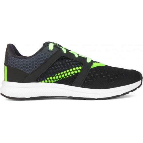 comprare adidas yamo allacciarsi le scarpe da corsa sono nere a rete online