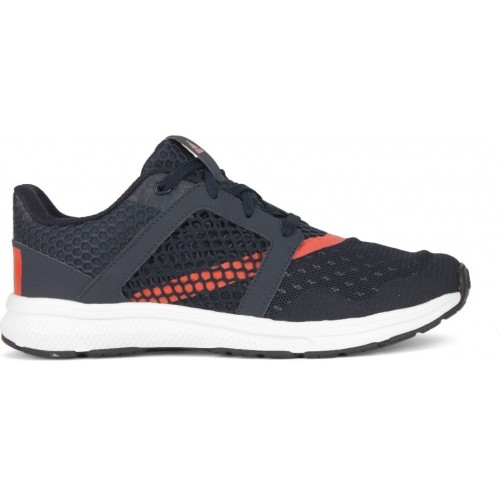 huge selection of c8e78 b282c ... Adidas YAMO 1.0 M Navy Blue Mesh Lace Up Running Shoes ...