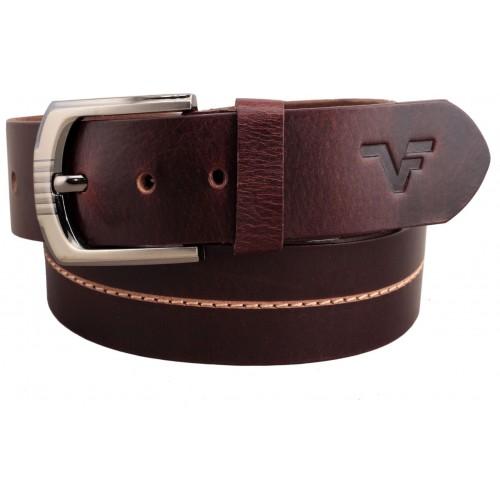 Vener Fabica Men Casual, Evening, Formal, Party Brown Genuine Leather Belt