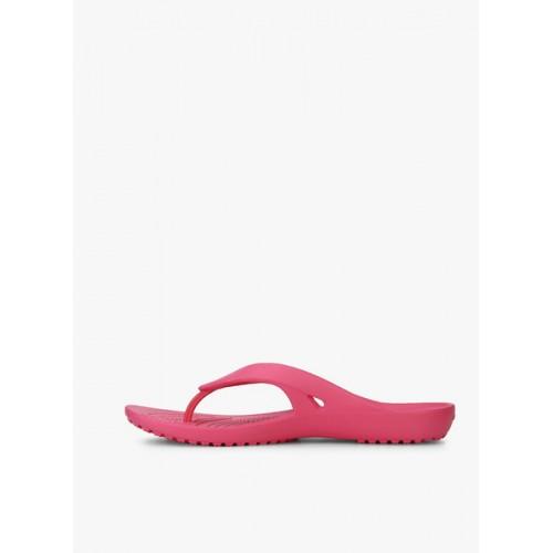 Crocs Kadee Ii Flip W Pink Flip Flops
