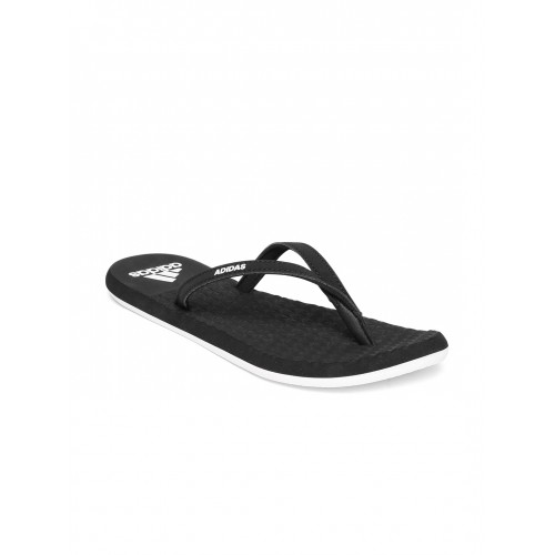 9493aa9e9f47 Buy Adidas Women Black EEZAY SOFT Textured Flip-Flops online ...